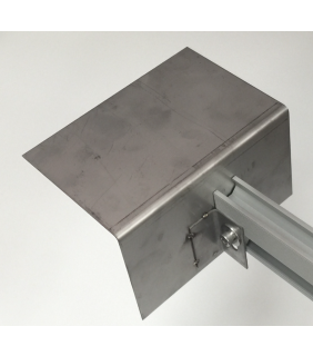 Isolator Bracket - Stainless Steel (end mount)