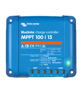 Victron Energy MPPT 100/15 BlueSolar Solar Charge Controller