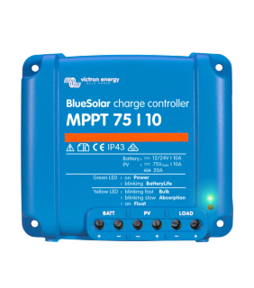 Victron Energy MPPT 75/10 BlueSolar Solar Charge Controller