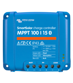 Victron Energy MPPT 100/15 SmartSolar Solar Charge Controller