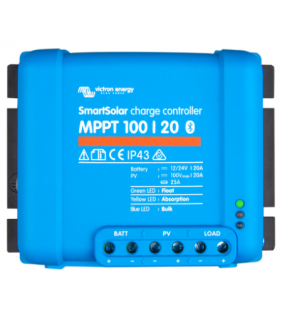 Victron Energy MPPT 100/20 SmartSolar Solar Charge Controller