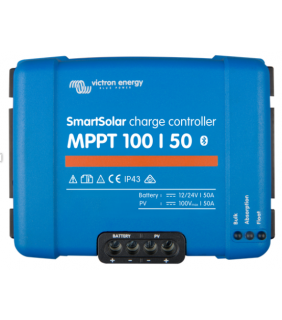 Victron Energy MPPT 100/50 SmartSolar Solar Charge Controller