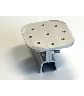 Clamp for klip-lok roof 700 (flat plate)